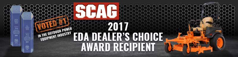 Scag Power Equipment Named NAEDA Dealer's Choice Recipient – 2017